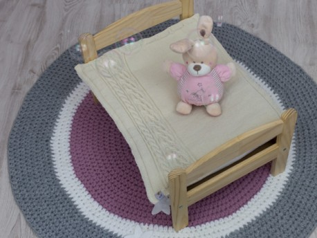 Bulle de Cocooning couverture en cachemire pour bébé 50 x 70