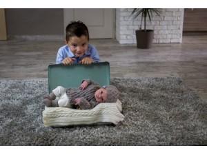 Bulle Nordique tenue en laine cachemire pour bébé