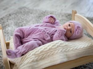 Tenue en laine cachemire pour bébé Bulle de Caresse