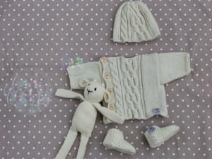 Bulle de Mini Môme, layette en cachemire pour bébé prématuré