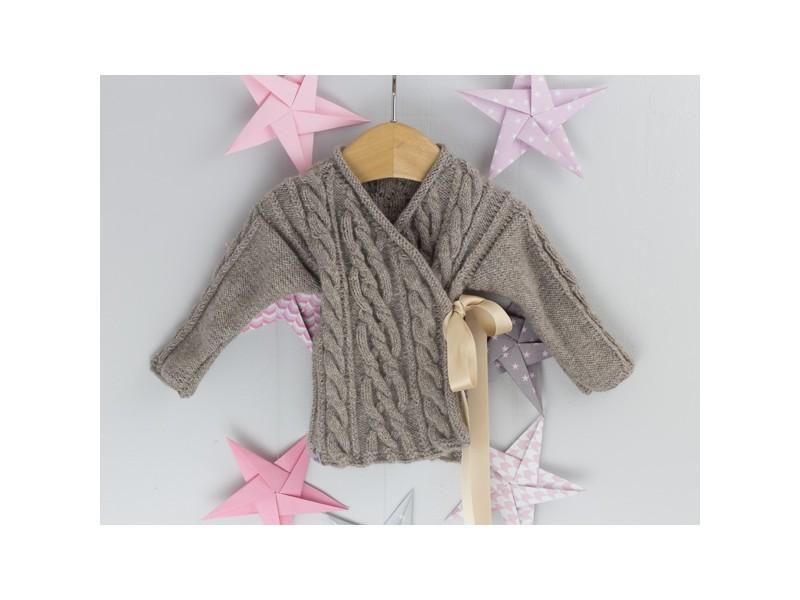 cce8cb5ad2085 ... Bulle Nordique Brassière en laine cachemire pour bébé ...