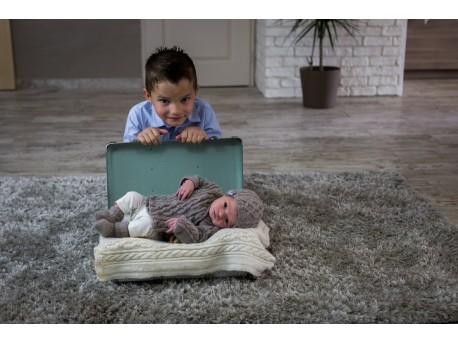 Bulle Nordique tenue complète en laine cachemire pour bébé