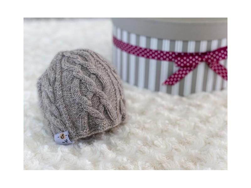 ... Bulle Nordique Bonnet en laine cachemire pour bébé ... 7168c2001834