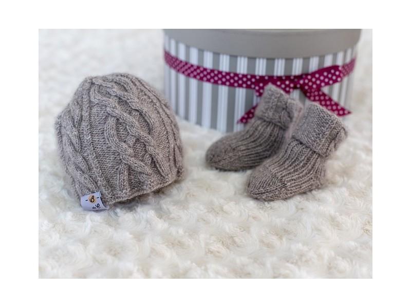 e559d395d67b3 ... Bulle Nordique coffret cadeau en laine cachemire pour bébé ...